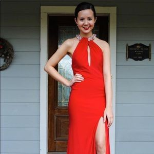 Dresses Red Old Hollywood Prom Dress Poshmark